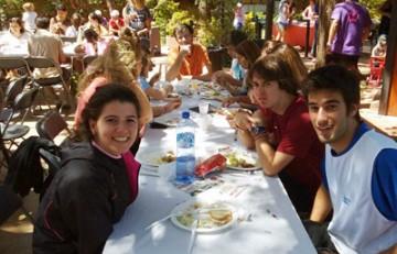 Almuerzo solidario en el Club Esportiu Laietà