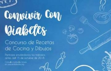 Convivir con diabetes, nueva edición del concurso de dibujo y cocina