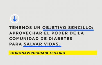 Organizaciones de diabetes de todo el mundo se unen para frenar la COVID-19