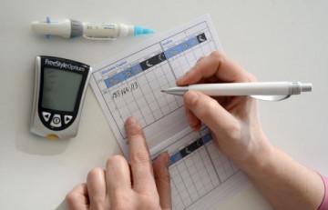 Control de glucemia capilar
