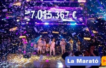 Recaudación final de La Marató de TV3