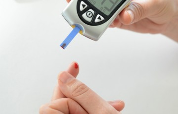 Prova de glucèmia amb punxada
