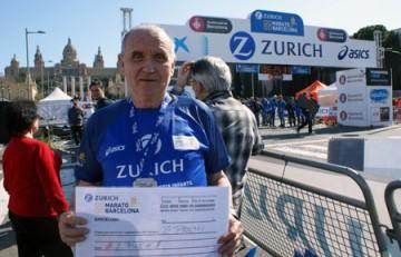 Miquel Pucurull en el Zurich Marató de Barcelona 2015