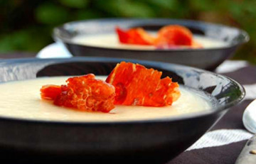Vichyssoise con virutas de jamón serrano - Núria Farregut - Flickr - CC BY 2.0