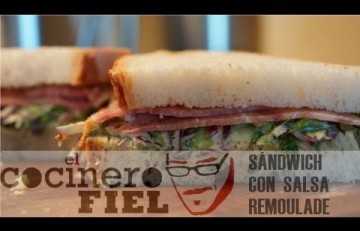 Embedded thumbnail for Sándwich con salsa rémoulade y embutido