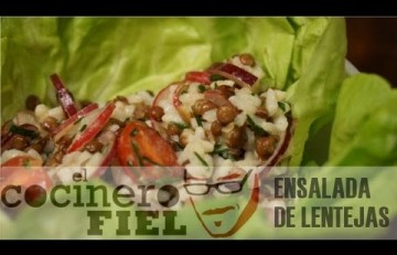 Embedded thumbnail for Ensalada de lentejas