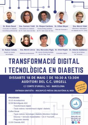 Jornada: Transformació digital i tecnològica en diabetis