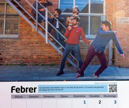 """Calendario solidario """"Músicos por la Diabetes Infantil"""" - Els Amics de les Arts"""