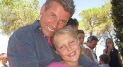 David Morgan amb la seva fija Poppy