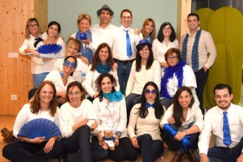 De azul, en el Día Mundial de la Diabetes