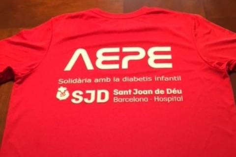 Camisetas solidarias para la diabetes infantil