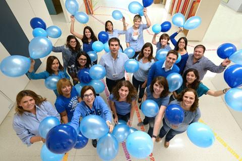 Unidad de Diabetes del Hospital Sant Joan de Déu el día Mundial de la Diabetes
