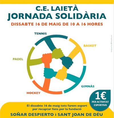 Jornada solidaria por la diabetes infantil en el Club Laietà