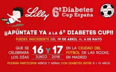 Abiertas las inscripciones a la Lilly Diabetes Cup