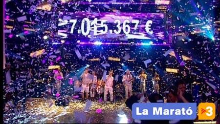 Recaptació final de La Marató de TV3