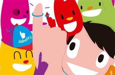 Cartel CIDI día mundial de la diabetes
