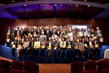 Entrega del premi Territoris Solidaris BBVA