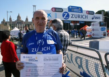 Miquel Pucurull al Zurich Marató de Barcelona 2015