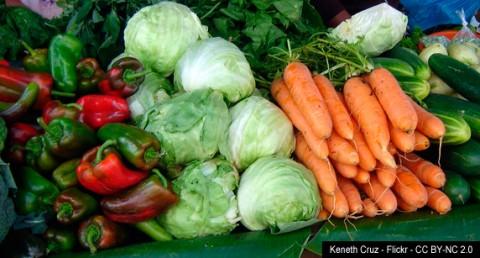 Verduras - Autor: Keneth Cruz - Flickr - CC BY-NC 2.0