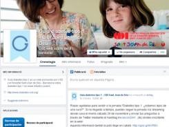 Página de Facebook de Guía diabetes tipo 1