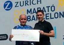 Miquel Pucurull i Dr. Cardona a la Zurich Marató de Barcelona