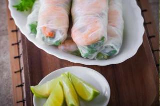 Cóctel de gambas vietnamita