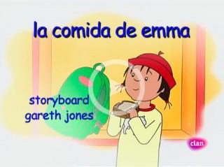 Vídeo de Caillou: La Comida de Emma