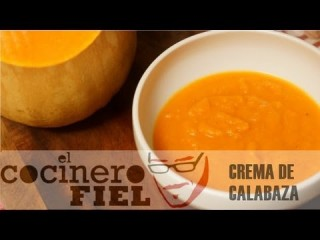 Embedded thumbnail for Crema de calabaza