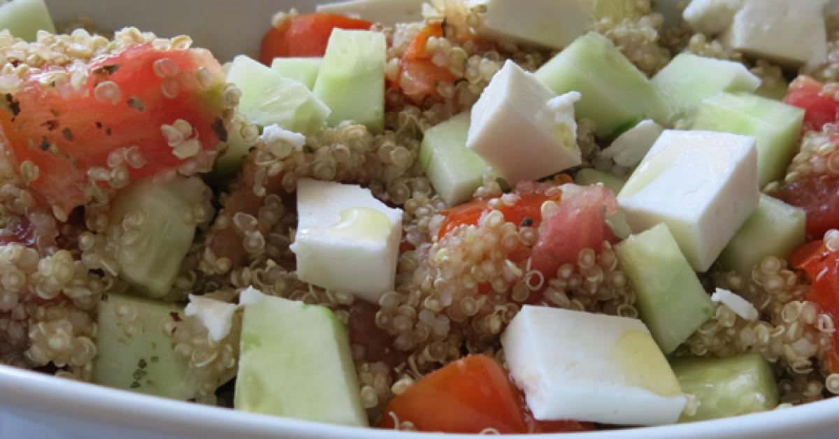 diabetes nutrición quinoa
