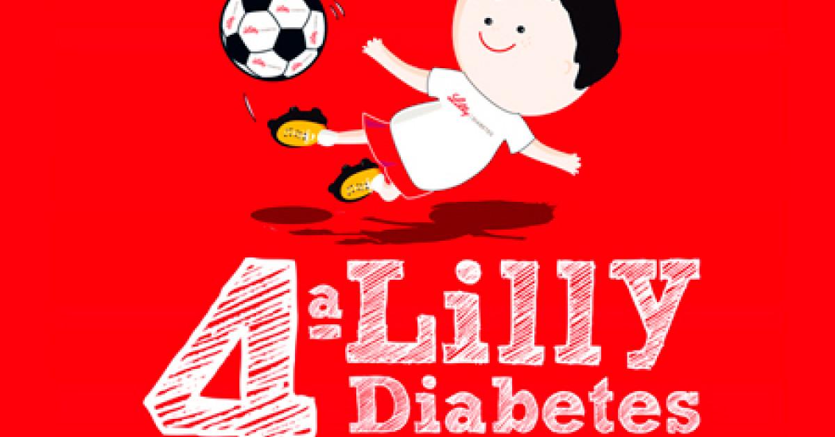 jugando fútbol diabetes tipo 1